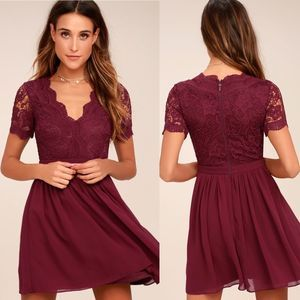 Lulu's | Angel in Disguise Skater Dress